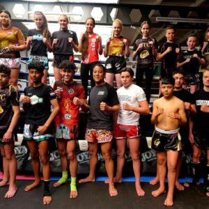 Selectietraining Nederland Junior Muaythai team